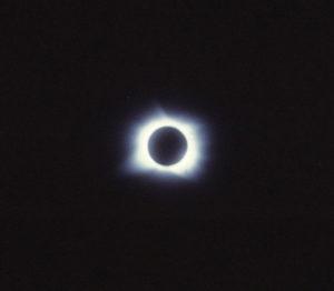 Total Solar Eclipse Java 1983