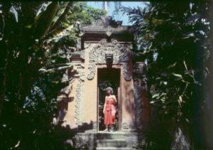 Tora on Bali 1983