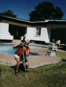 Tora watching totality 2001