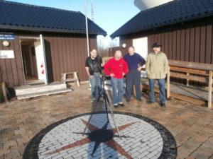 Coronadon med några av observatörerna